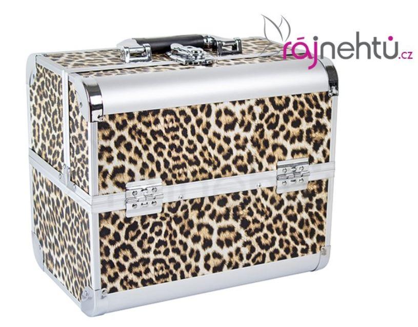 Kosmetický kufřík – leopard delight